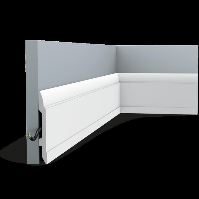 Plinthe moderne au motif linéaire SX104 (1)