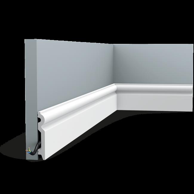 Plinthe SX137 de taille moyenne au profil arrondi (1)
