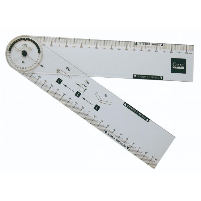 Graphomètre - compas d'angle