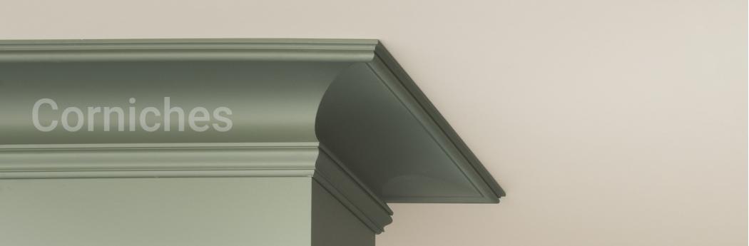 Corniche pour plafond, corniches en plâtre | Architecture and Design